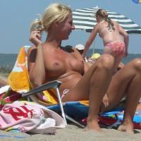 Beach Voyeur:Nipples At Spain Beach