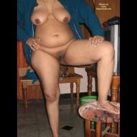 Nude Girlfriend:Baazi On Bed