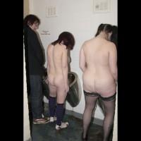 Nude Friend on heels:*ME Celeste & Phoenix In The Gents