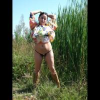 Nude Wife on heels:Alexandra