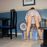 Nude Wife:Hot Wife Upskirt - Nude Upskirt