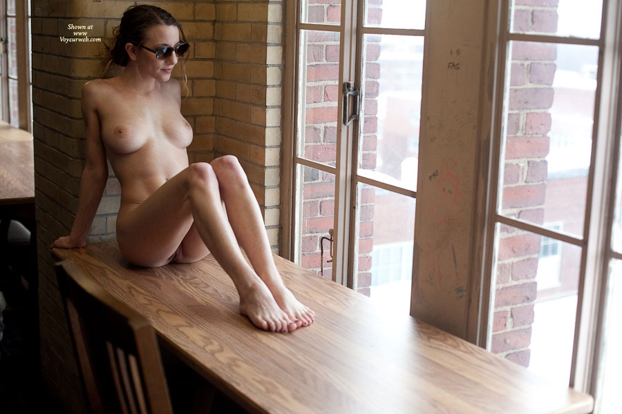 Pic #1 - Nude Girl With Sunglasses - Hot Girl, Naked Girl , Bare Pussy, Attractive Bare Feet, Nude Skinny Girl, Nude Girl At Window, Twat Peak, Slender Legs, Medium Round Breasts