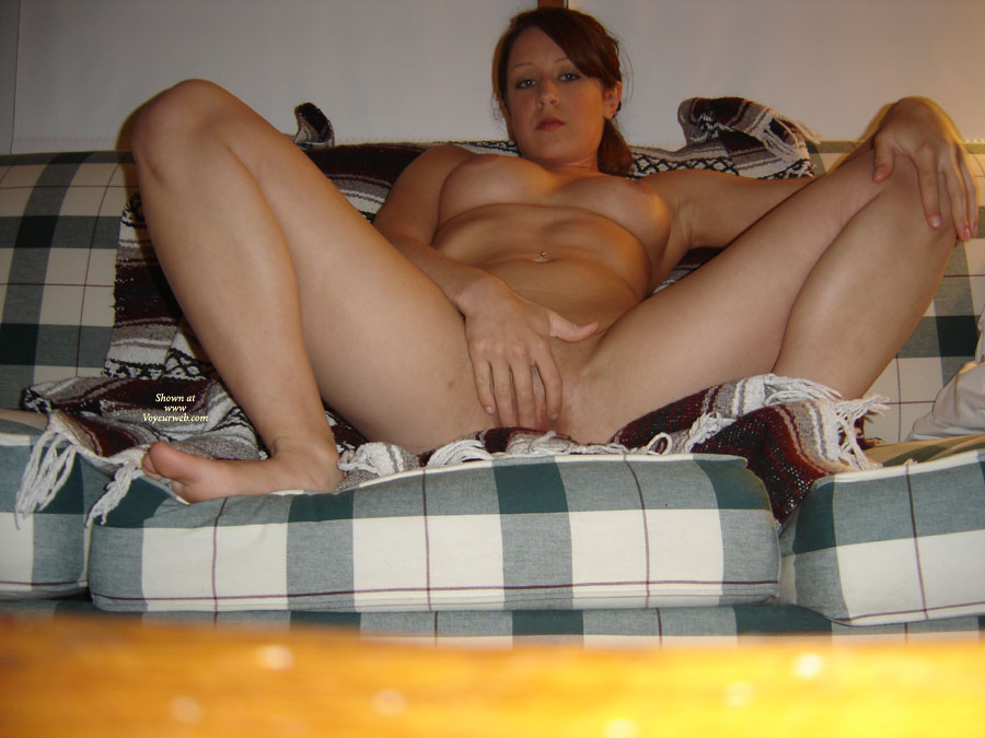 Pic #1 - Girl Sitting On Couch Legs Spread Hand Over Pussy - Big Tits, Navel Piercing, Red Hair, Spread Legs , Girl Massaging Pussy, Navel Piercing, Girl Playing With Pink Pussy, Great Tits, Girl Fingering Herself, Legs Spread Wide, Mature Wife, Big Boobs, Playing With Self, Spread Legs
