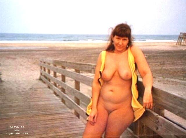 Pic #3 - Purple Patty at a beach