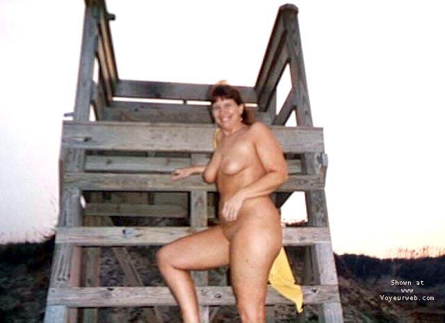 Pic #4 - Purple Patty at a beach