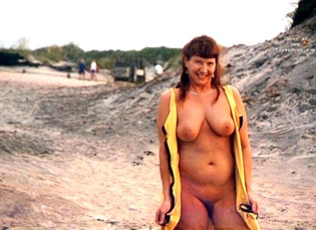 Pic #6 - Purple Patty at a beach