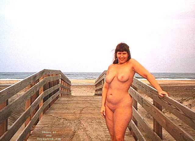 Pic #8 - Purple Patty at a beach