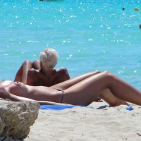 Beach Voyeur - Long Legs, Topless Beach, Topless, Beach Tits, Beach Voyeur, Naked Girl, Nude Amateur, Sexy Figure, Sexy Legs
