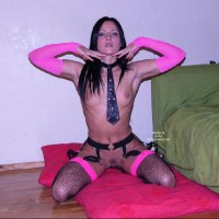 Fish Net - Black Hair, Dark Hair, Small Breasts, Small Tits