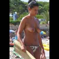 Beach Voyeur:Mallorca Beach: Big Tits 5