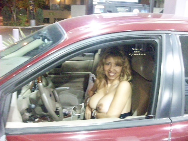 Isn't driving voyeur