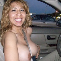 Driving Car Topless - Big Tits, Erect Nipples, Flashing, Hard Nipple, Huge Tits, Topless , Seatbelt Between Boobs, Parking Lot Flasher, Topless And Smiling, Seat Belt Split Naked Tits, Stripping Inside The Car, Big Smile Driving Topless, Flashing The Boys, Hard Nipples In Car, Exposing Her Tits In Public, Pointy Nipples