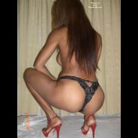 Nude Wife on heels:*NH Asian On Heels