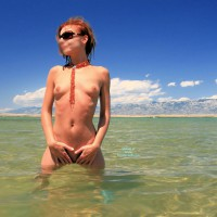 Nude Wife: Sunbathing In Croatia