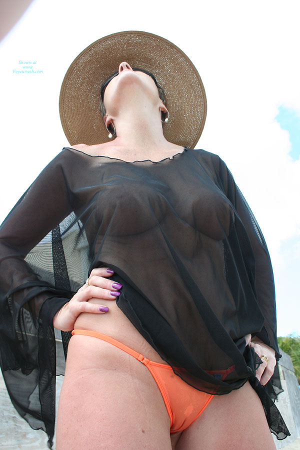 Pic #1 - Translucent Black Top - Big Tits, Large Breasts, Naked Girl, Nude Amateur, Nude Wife , Fishnet Top, Large Boobs, Purple Finger Nail Polish, Sheer Black Top, Orange Wicked Weasel, Full Breasts, Orange Thong, Large Tits, Black See Thru Top With Large Breasts, Wicked Weasel