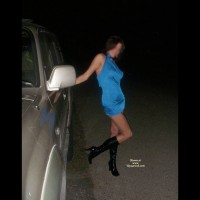 Nude Wife on heels: Night Out....