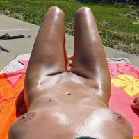 Phiona Sunbathing