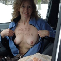 Topless Girlfriend:Trip To New Years Eve