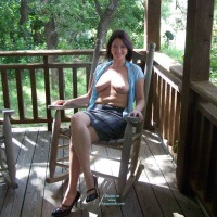 Nude Wife on heels:My Hot Wife