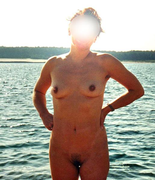 Nackt Am Baggersee