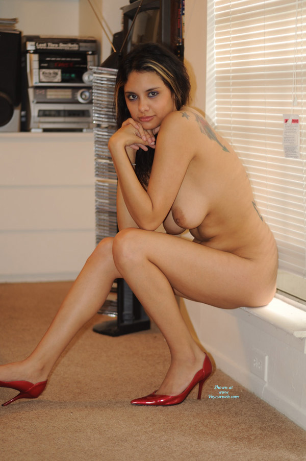 Nude Friend on heels: *NH Nichole By The Window , Additional Images.. Enjoy For Your Pleasure