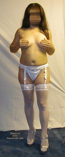 Pic #5 - Petite Dancer In White Stockings 3