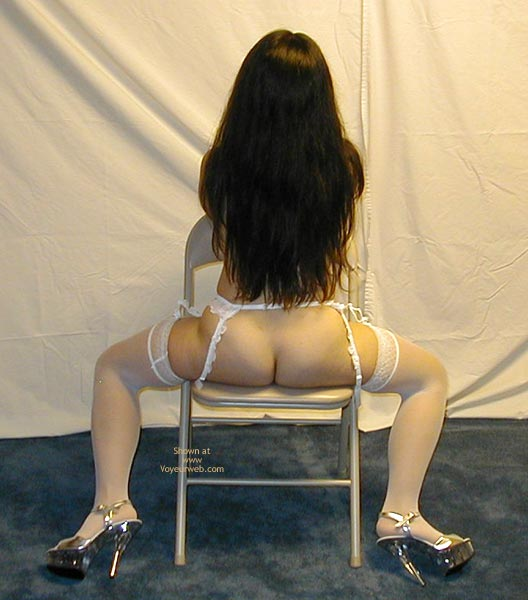 Pic #9 - Petite Dancer In White Stockings 3