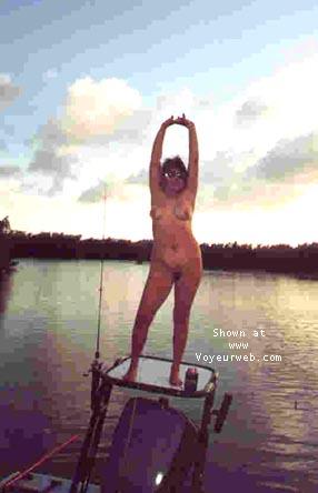 Pic #3 - B.B.B. fishing the keys