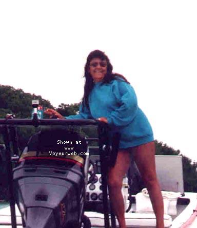 Pic #7 - B.B.B. fishing the keys