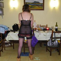 Topless Wife: In The Kitchen