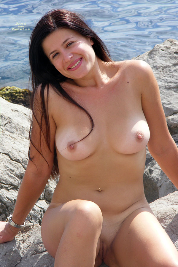 Pic #1 - Nude Girlfriend - Brunette Hair, Hard Nipple, Long Hair, Shaved Pussy, Spread Legs, Hairless Pussy, Naked Girl, Nude Amateur , Goregous Smile, Beach Brunette, Shaved, Medium Breasts, Most Inviting Pussy, Beautiful Body, Nice Tits And Pussy, Begs To Be Kissed, Beach Snapper