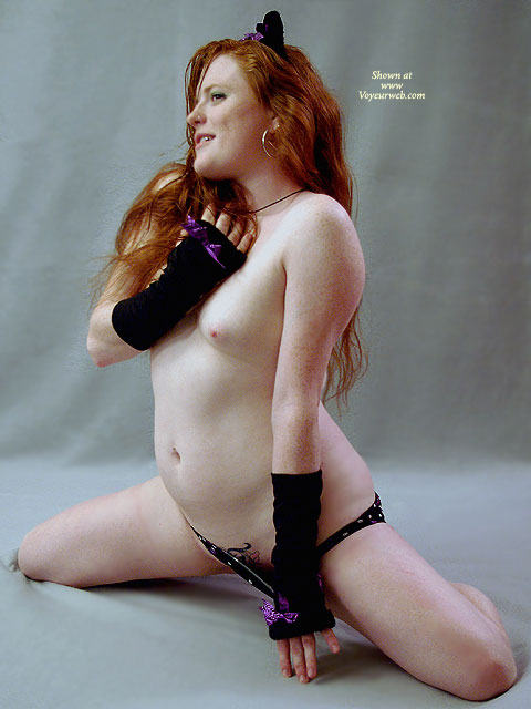 Pic #1 - Pulling Down Underwear - Red Hair, Naked Girl, Nude Amateur , Fire Crotch, Nude Friend, Sitting On Knees, On Knees, Tattoo Pussy, Hairy Pussy, Hairy Bush, Strawberry Skin, Kitty Costume, Red Hair And Freckles