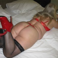 Me in Lingerie:Sabine´s Ass