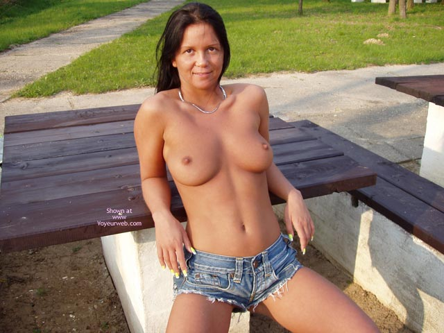 Pic #1 - Daisy Dukes , Daisy Dukes, Topless In The Park