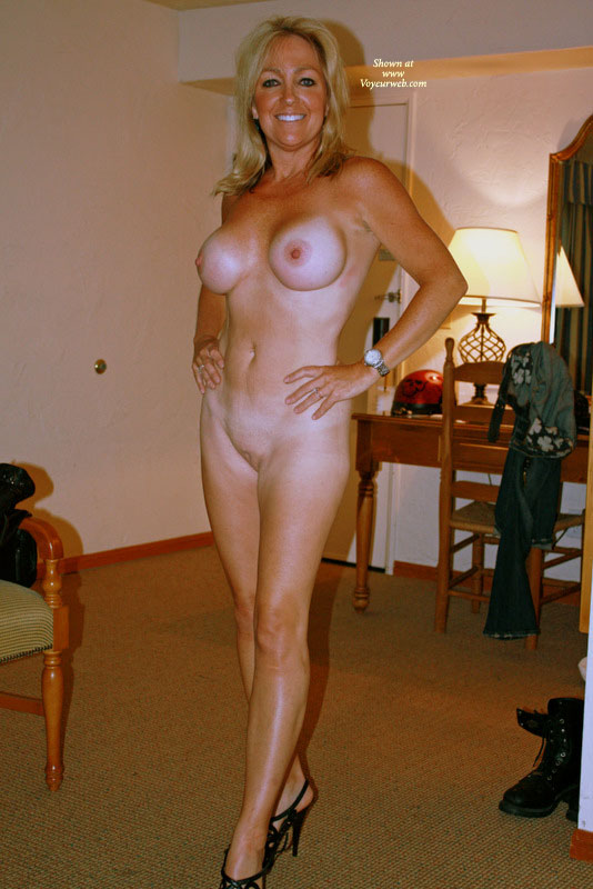 naked wife in heels