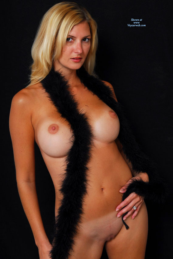 Pic #1 - Nude Milf - Big Tits, Blonde Hair, Milf, Shaved Pussy, Tan Lines, Naked Girl, Nude Amateur , Nude With Black Background, Milf With Tan Lines, Black Boa, Shaved Blonde With Black Fur Boa, Standing, Blonde With Big Tits, Full Face, Brown Eyes, Tanlines, Facing Camera, Tan-lined Blond Posing With Boa, Red Lips, Shaved Nude With Fur, Mature