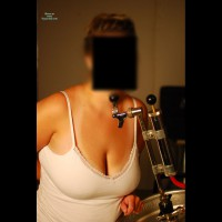 Topless Wife:Keg Party