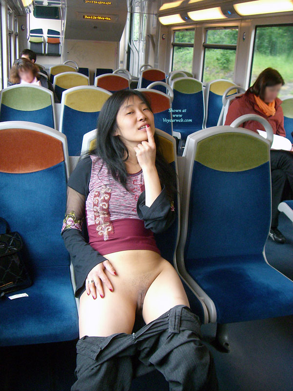 Nude In Train