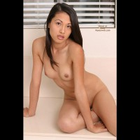 Sexy Nude Asain - Dark Hair, Small Breasts