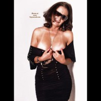 Amateur dressed sexy:Deby, Black Dress