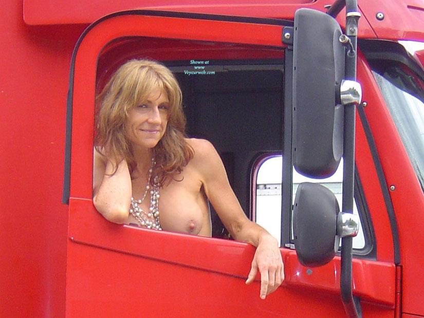 Nude wife truck 5