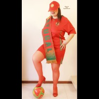Nude Wife on heels:Tulipa: Go Portugal, Força Portugal