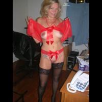 Ex-Girlfriend in Lingerie:Nina In Red