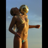 Soccer Babe - Blonde Hair, Long Hair, Perky Tits, Small Breasts, Small Tits, Naked Girl, Nude Amateur, Nude Wife