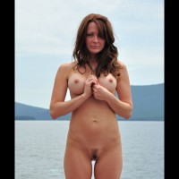 Nude MILF - Hairy Bush, Hard Nipple, Landing Strip, Long Hair, Milf, Red Hair, Naked Girl, Nude Amateur