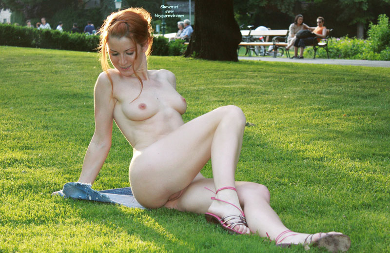 Another chance to enjoy the exciting feeling of being nude in public