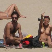 Beach Voyeur - Topless Beach, Beach Tits, Beach Voyeur, Naked Girl, Nude Amateur