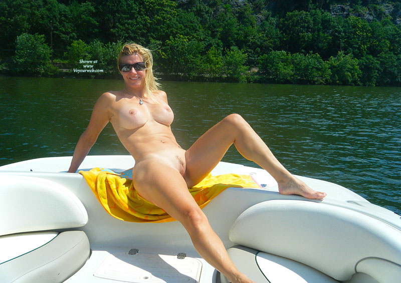 Wife naked boat
