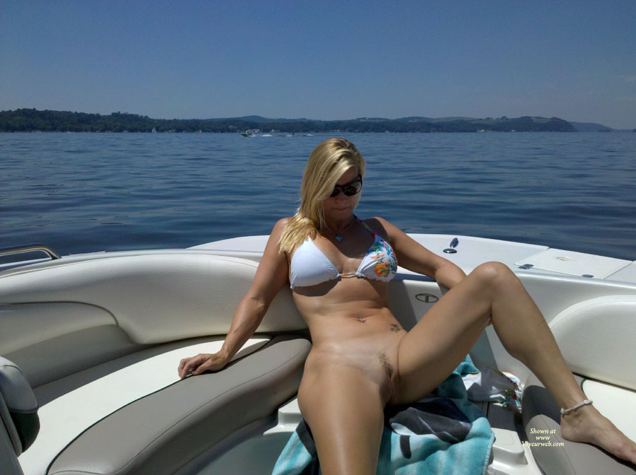 Kayaking nude wife video