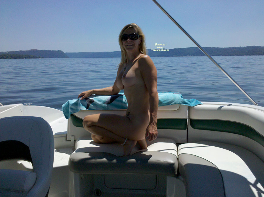 Women naked in bass boats understand you